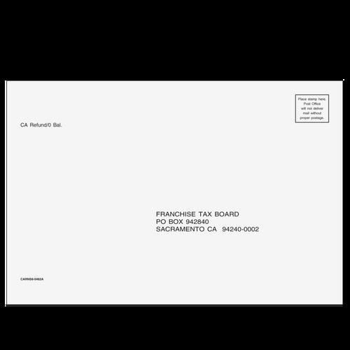 CARNS610 - California Refund Envelope