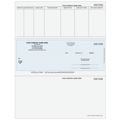 L1294 - Accounts Payable Middle Business Check