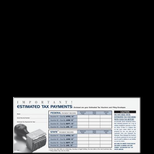 E027 - Important Estimated Tax Payment Envelope