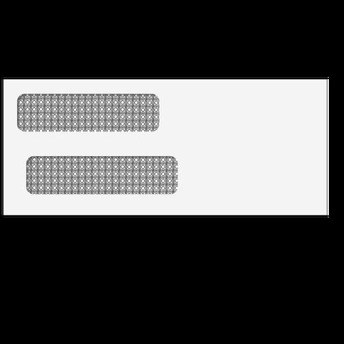 E9150014 - Double Window Envelope (Moisture Seal)