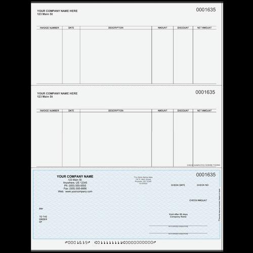 L1635 - Accounts Payable Bottom Business Check