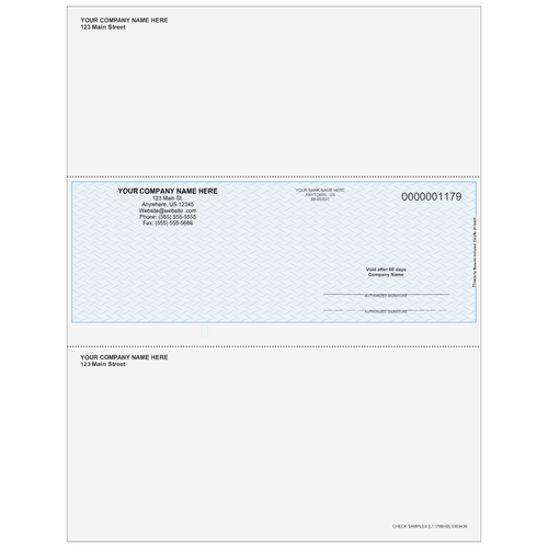 L1179B - Multi-Purpose Middle Business Check
