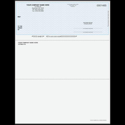 L1485 - Multi-Purpose Top Business Check