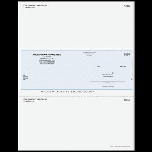 L1067 - Multi-Purpose Middle Business Check