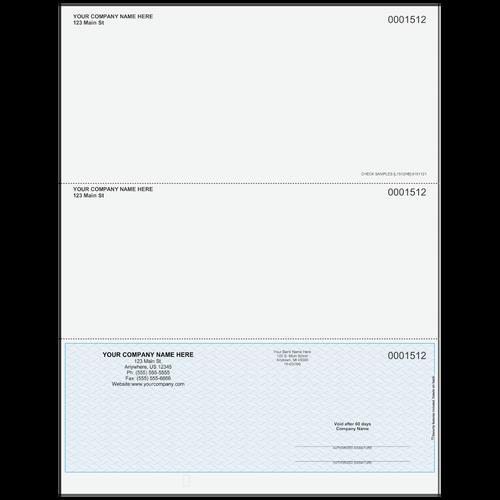 L1512 - Multi-Purpose Bottom Business Check