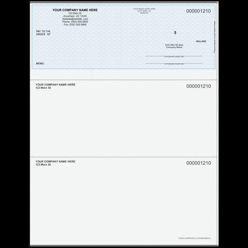 L1210 - Multi-Purpose Top Business Check