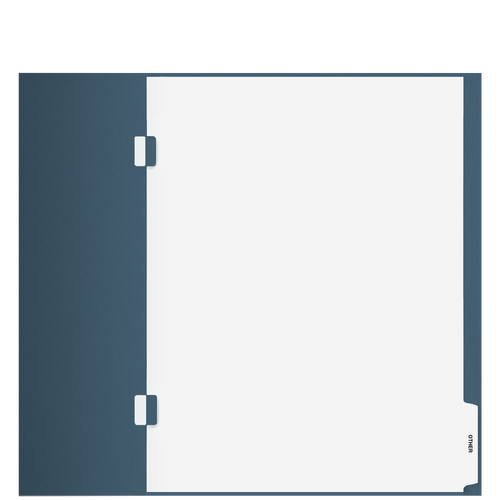 TB106S - 'Other' Side Staple Index Tab Divider
