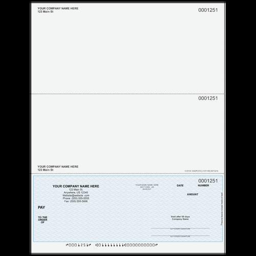 L1251 - Multi-Purpose Bottom Business Check