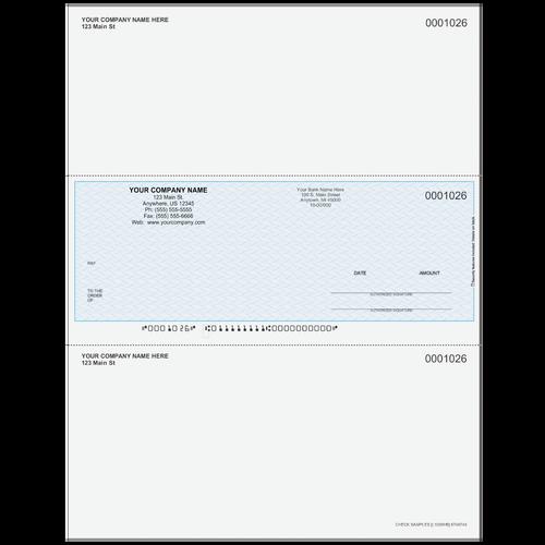 L1026 - Multi-Purpose Middle Business Check