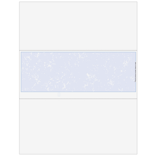 LSRBLKMXX - Classic Blank Middle Business Check with Marble Background