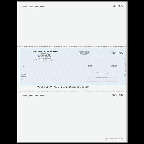 L1587 - Multi-Purpose Middle Business Check