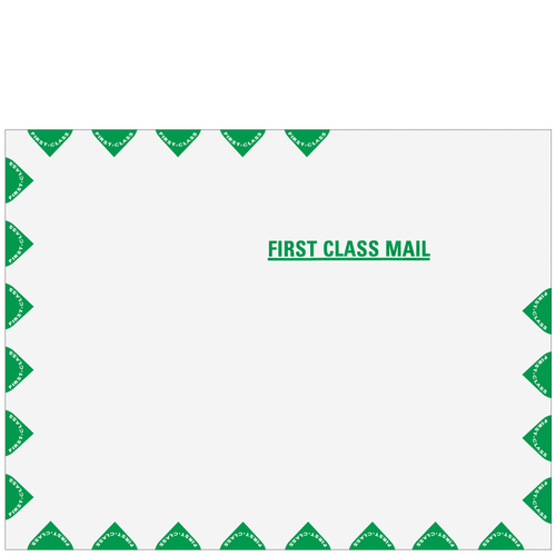 2262 - 10x13 Tyvek 1st Class P&C Env