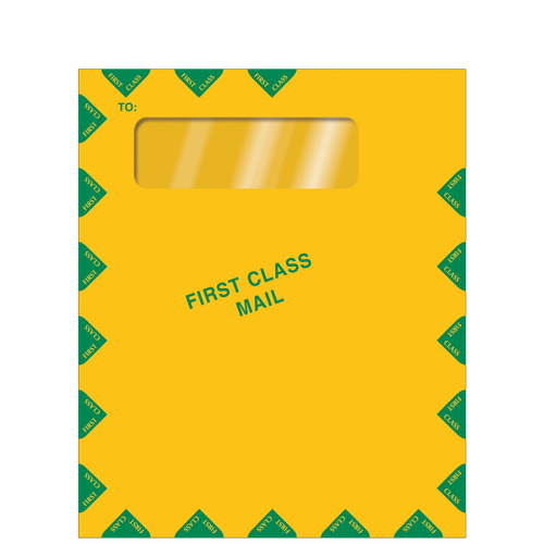 E030 - Single Window First Class Mail Envelope