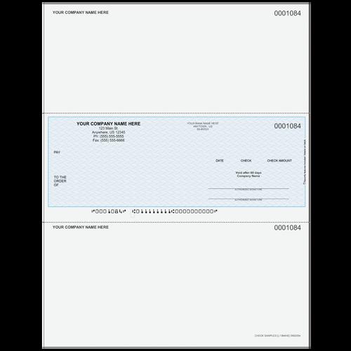 L1084 - Multi-Purpose Middle Business Check