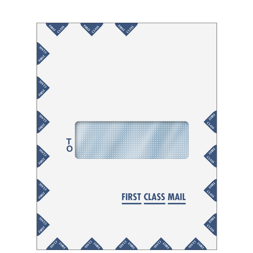 80554 - Single Window First Class Mail Envelope