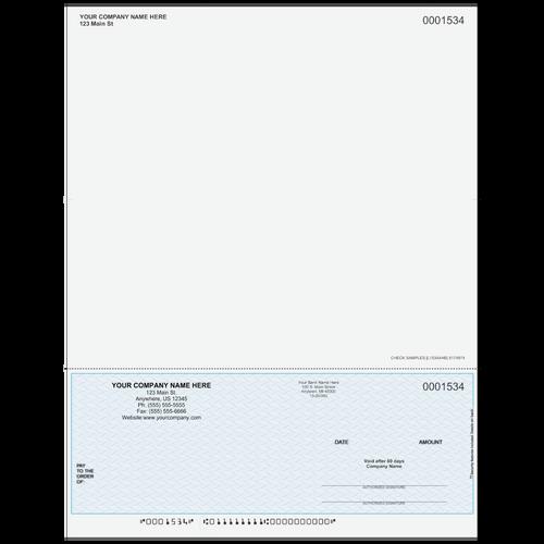 L1534A - Multi-Purpose Bottom Business Check (One Perf)