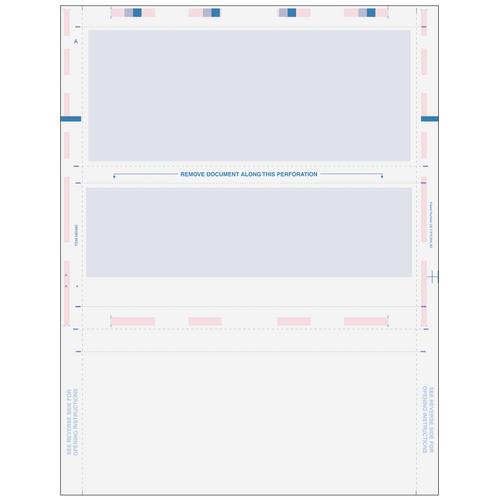 80480 - Pressure Seal Z-Fold Blue Check (Flat Background)