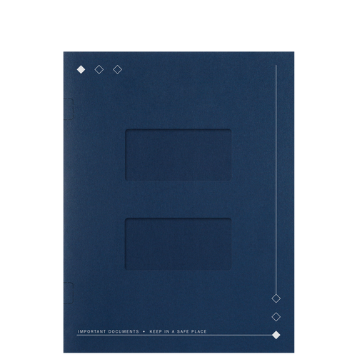 LA20XX - Side-Staple Folders with Large Windows