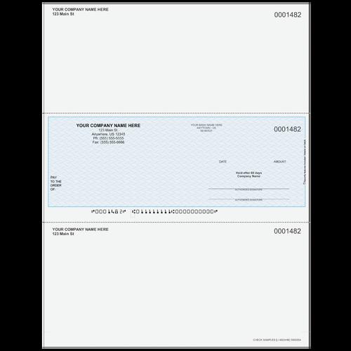 L1482A - Multi-Purpose Middle Business Check