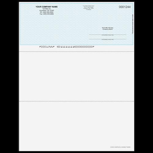 L1244 - Multi-Purpose Top Business Check