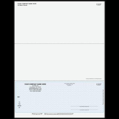 L1337 - Multi-Purpose Bottom Business Check