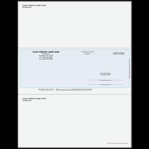 L1055C - Multi-Purpose Middle Business Check