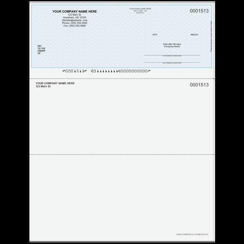 L1513 - Multi-Purpose Top Business Check