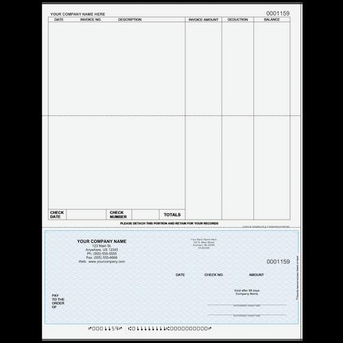 L1159A - Accounts Payable Bottom Business Check