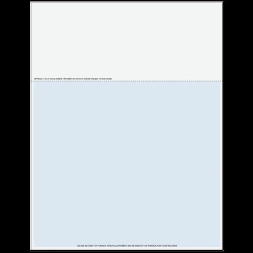 "815AXX - 11"" Statement Paper (with Address Change)"