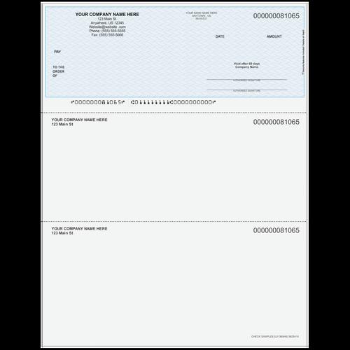 L81065 - Multi-Purpose Top Business Check