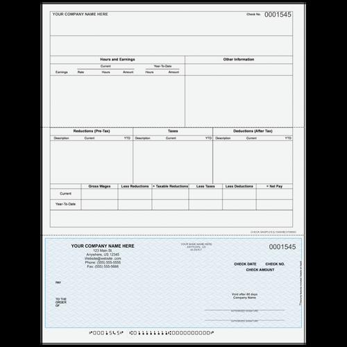 L1545 - Payroll Bottom Check