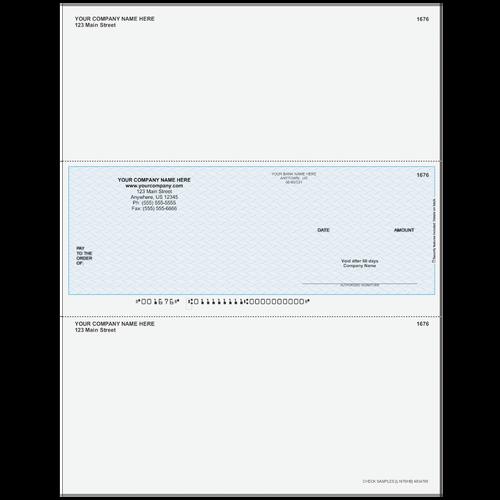 L1676 - Multi-Purpose Middle Business Check