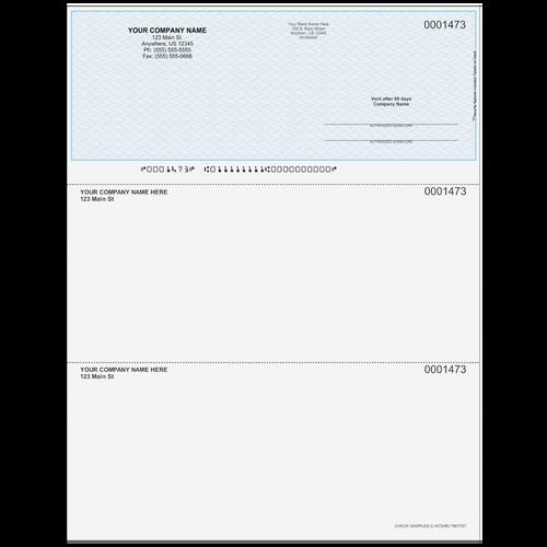 L1473 - Multi-Purpose Top Business Check