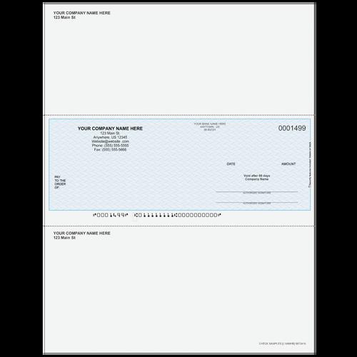 L1499 - Multi-Purpose Middle Business Check