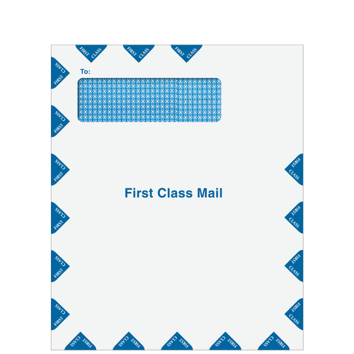 CLNT910 - Single Window First Class Envelope