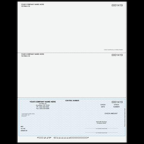 L1419 - Multi-Purpose Bottom Business Check