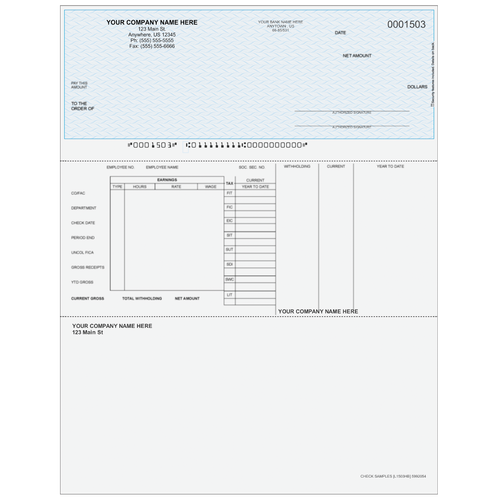 L1503 - Payroll Top Business Check