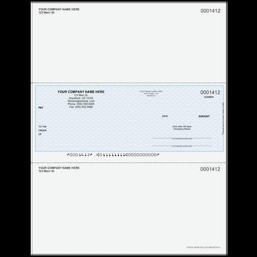L1412 - Multi-Purpose Middle Business Check