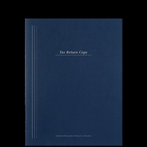 FL75BX - Top Staple Tax Return Folder (100#)
