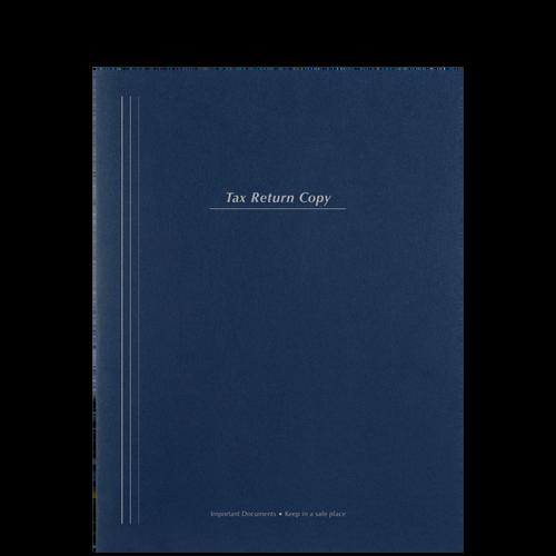 FL75BX -  Top Staple Tax Return Copy Folder