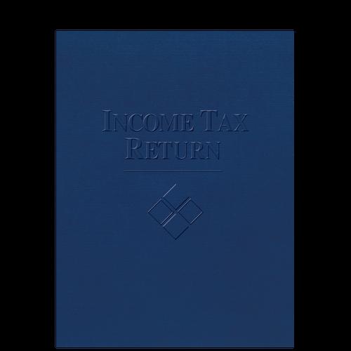 FOLDER5XX - Embossed Income Tax Return Folder