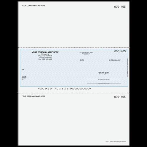 L1465A - Multi-Purpose Middle Business Check