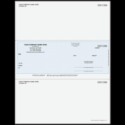 L1396 - Multi-Purpose Middle Business Check