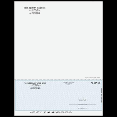 L1559 - Multi-Purpose Bottom Business Check (One Perf)