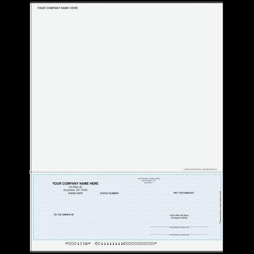 L1558 - Multi-Purpose Bottom Business Check (One Perf)