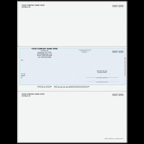 L1200 - Multi-Purpose Middle Business Check