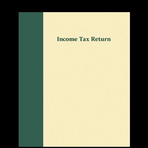 80369 - Expandable Prestigious Tax Return Folder