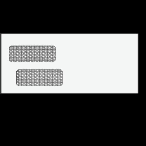 81553 - #10 Double Window Envelope