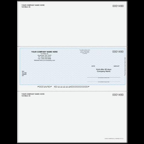 L1490 - Multi-Purpose Middle Business Check