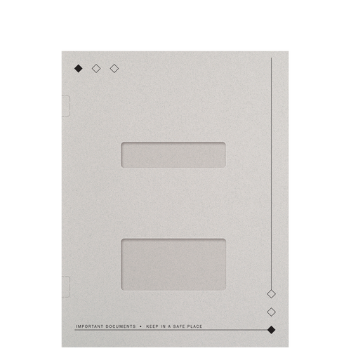 FL52WX - Side Staple Folder with Windows